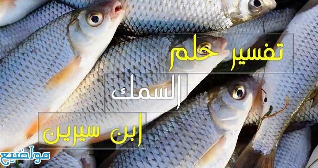 تفسير حلم رؤية السمك للمتزوجة والرجل والعزباء