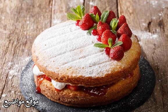 طريقة تحضير الكيكة الاسفنجية
