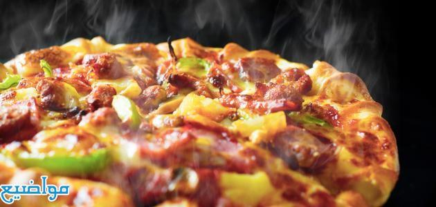 طريقة عمل البيتزا السريعة والسهلة في البيت