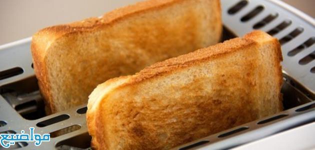 طريقة عمل الخبز المحمص للفتى وللشربة والسلطة