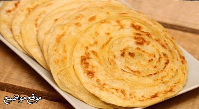 طريقة عمل الخبز الهندي الجاهز المقلي والمقرمش