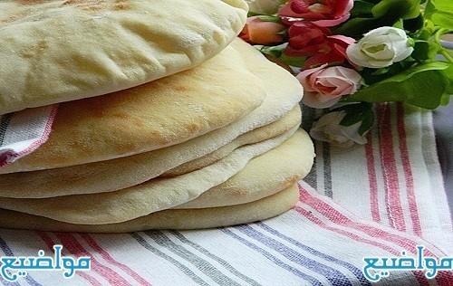 طريقة عمل العيش الشامي بتاع المطاعم في الطاسة
