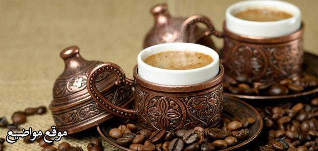 تحضير وعمل القهوة التركية