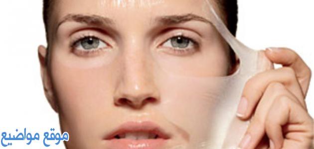 تقشير الوجه طبيعياً للبشرة الحساسة والجافة
