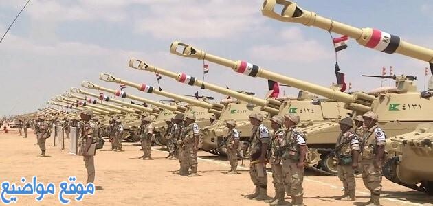 عبارات وكلمات عن الجيش المصري قصيرة