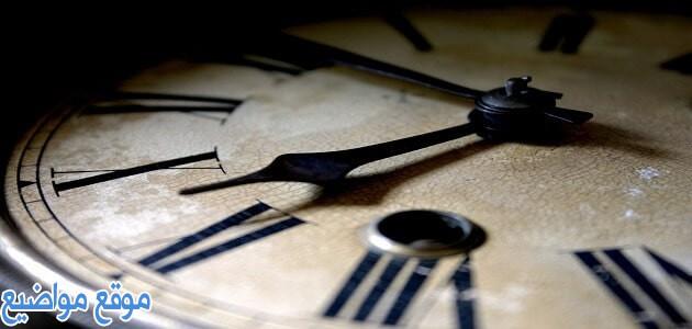 عبارات وكلمات عن الوقت والحب وأهميتة