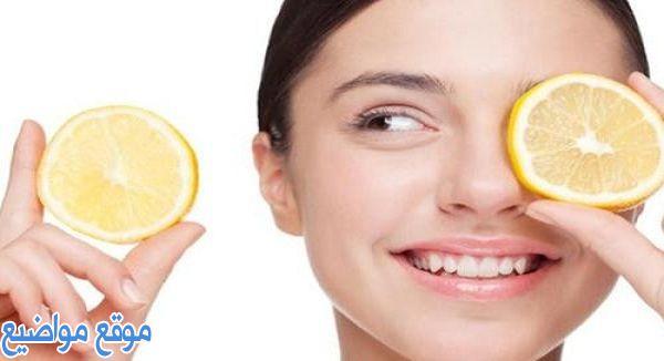 فوائد الليمون للبشرة الدهنية الحساسة