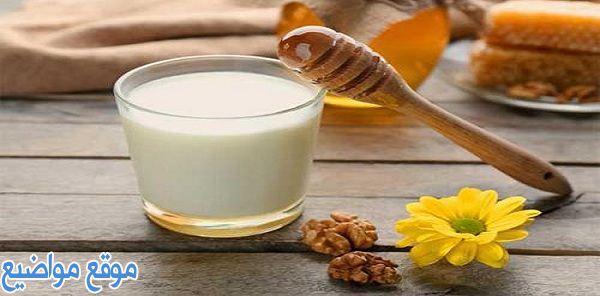 فوائد ماسك الحليب والعسل للبشرة و4 ماسكات متعددة