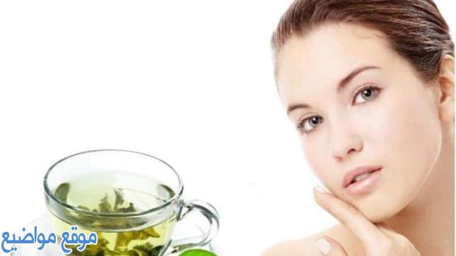 ماسك الشاي الأخضر للحبوب والوجه وطريقة تحضيرة