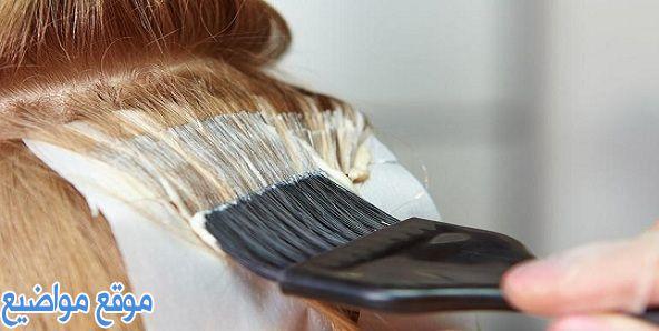 طريقة استعمال صبغة الشعر وانواعها وأضرارها