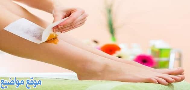 طريقة عمل الشيرة لإزالة الشعر وتنظيف الجسم