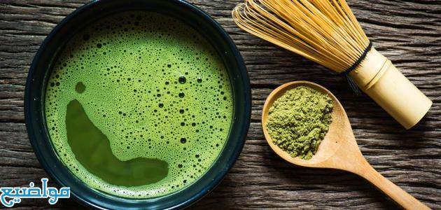 فوائد شاي الماتشا للبشرة والشعر والتخسيس والتنحيف