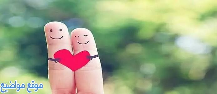 كلام في الحب والعشق والرومانسية قصير ومميز