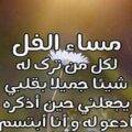 كلمات وعبارات مساء الفل للحبيب والأصدقاء
