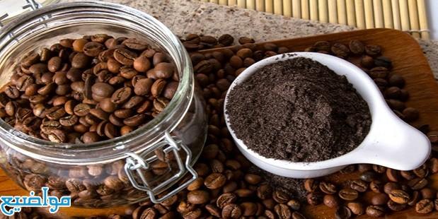 ماسك القهوة وزيت الزيتون والسكر للوجه والجسم