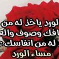 رسائل مساء الورد والياسمين ورسائل مساء الورد للاصدقاء والحبيب